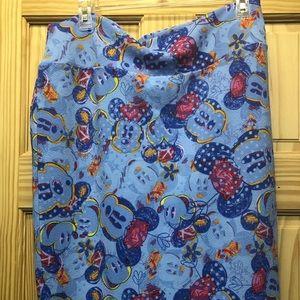 Lularoe Disney Cassie skirt, excellent condition